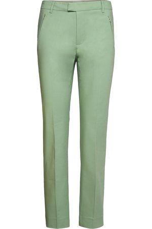 Noa Noa Dame Smale bukser - Trousers Slimfit Bukser Stoffbukser Grønn