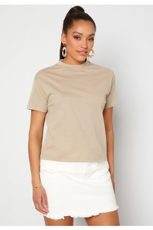 Trendyol Eco Cotton Relaxed T-Shirt Tas/Stone L