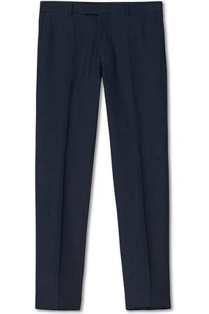 Oscar Jacobson Herre Chinos - Damien Trousers Super 120's Wool Navy