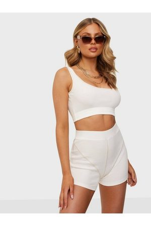 NLY Trend Dame Playsuits - Contrast Seam Rib Set