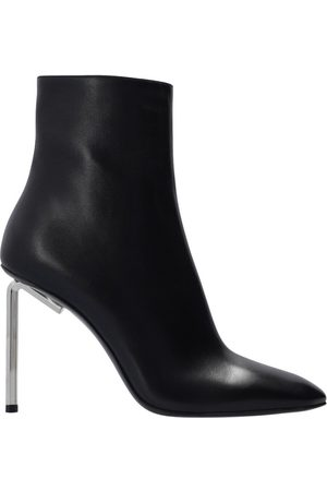OFF-WHITE Leather ankle boots