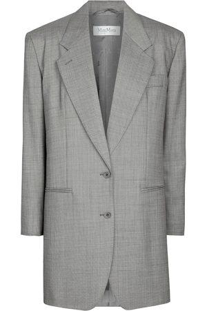 Max Mara Dame Blazere - Guelfo stretch-wool blazer