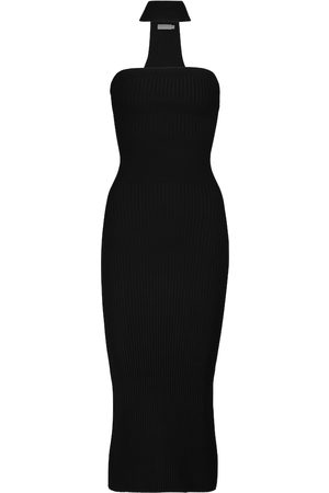 JONATHAN SIMKHAI Selena ribbed-knit midi dress
