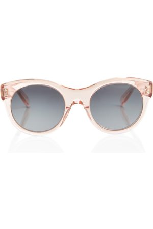 Céline Dame Solbriller - Round acetate sunglasses