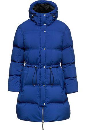 Aztech Dame Dunkåper - Hooded padded down coat