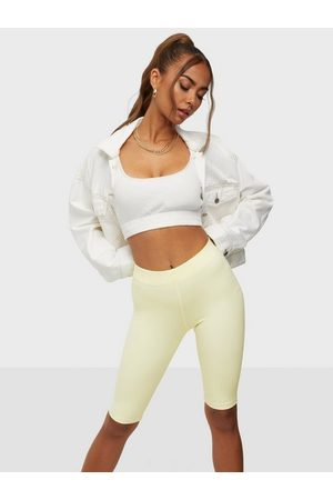 ONLY Onlvedel Bike Shorts Pastel Yellow