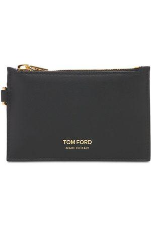 Tom Ford Herre Nøkkelringer - Logo Small Zip Wallet W/ Neck Strap