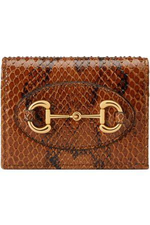 Gucci Horsebit 1955 python wallet