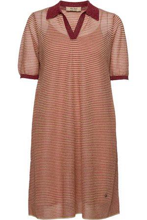 Mos Mosh Dame Strikkede kjoler - Vinola Knit Dress Dresses Everyday Dresses Beige