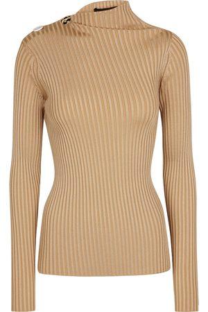 Proenza Schouler Dame Langermede - Ribbed-knit top