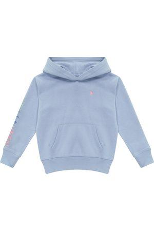 Ralph Lauren Jente Hettegensere - Logo cotton-blend hoodie