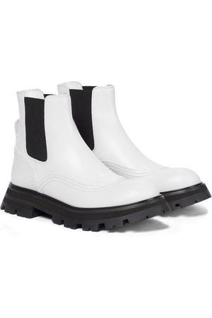 Alexander McQueen Dame Skoletter - Leather Chelsea boots