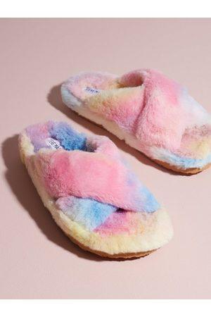 Steve Madden Fuzed Slipper Multicolor