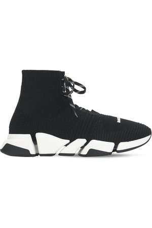 Balenciaga Herre Sneakers - Speed 2.0 Knit Lace Up Sneakers