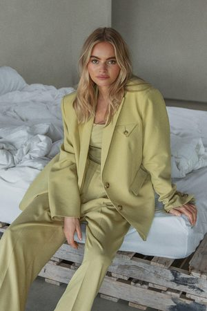 Claire Rose x NA-KD Dame Chinos - Oversized Dressbukser
