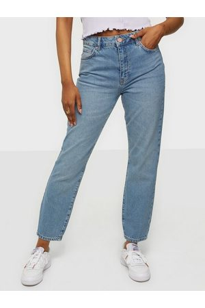 Noisy May Dame Mom - Nmisabel Hw Mom Jeans Lb Noos