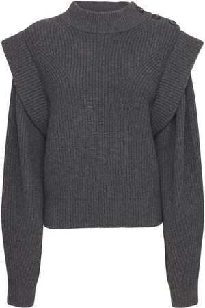 Isabel Marant Peggy Wool Blend Knit Sweater