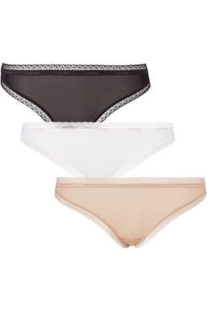 Calvin Klein Dame Briefs - 3-pakning Bottoms Up Refresh Bikinis