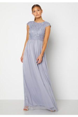 BUBBLEROOM Ariella prom dress Dusty blue 34