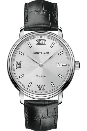 Mont Blanc Herre Klokker - Tradition Quartz 40mm White