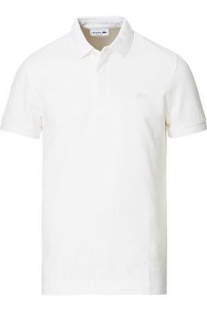 Lacoste Regular Fit Tonal Crocodile Poloshirt White
