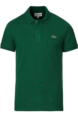 Lacoste Herre Pique - Slim Fit Polo Piké Green
