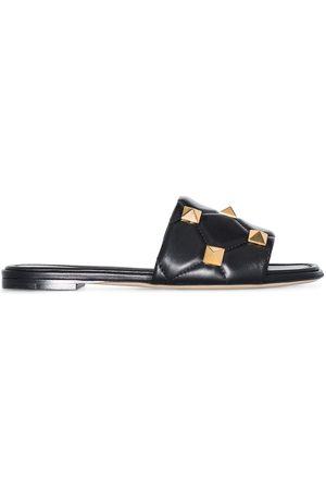 Valentino Garavani Dame Loafers - Roman Stud slip-on sandals