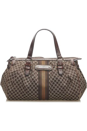 Céline Macadam Handbag Fabric Canvas