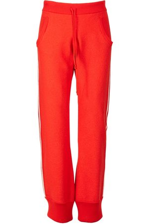 Maison Margiela Herre Chinos - Felted Wool Knit Jogging Pants