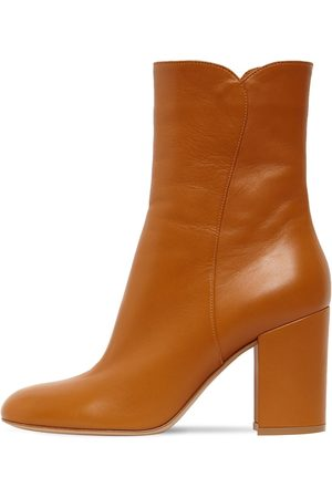 Gianvito Rossi Dame Skoletter - 85mm Leather Ankle Boots