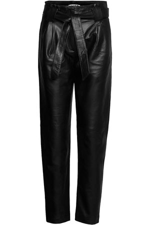 Just Female Dame Leggings - Nago Leather Trousers Leather Leggings/Bukser