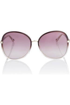 Chloé Dame Solbriller - Franky round sunglasses