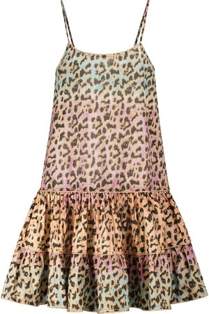 Juliet Dunn Dame Mønstrede kjoler - Exclusive to Mytheresa – Leopard-print cotton minidress