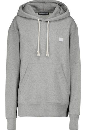 Acne Studios Fennis Face cotton hoodie