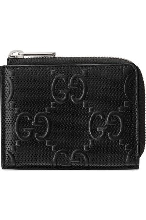 Gucci GG embossed mini wallet