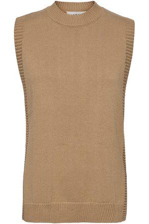 Blanche Dame Vester - Sea Vest Vests Knitted Vests Brun