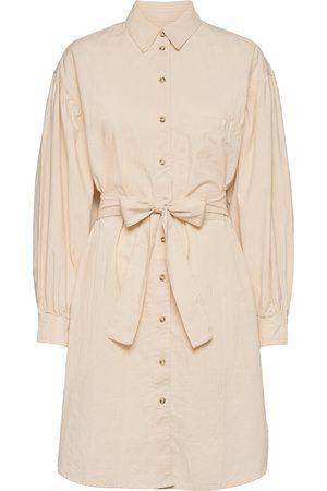 SELECTED Dame Hverdagskjoler - Slfcecilie Ls Short Shirt Dress Knelang Kjole Rosa