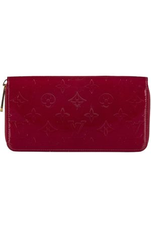 LOUIS VUITTON Vernis Zippy Long Wallet Leather