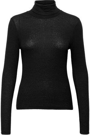 Just Female Millie Ls Rollneck T-shirts & Tops Long-sleeved Hvit