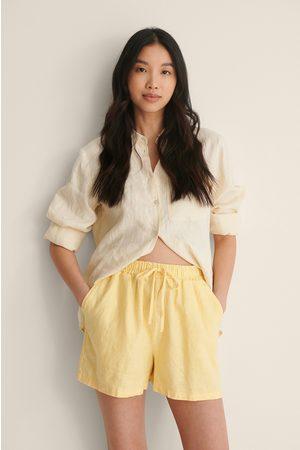 NA-KD Dame Shorts - Shorts Med Elastisk Lin