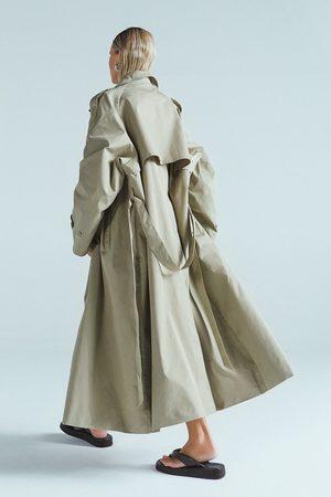 NA-KD Dame Trenchcoats - Lang Oversized Trenchcoat