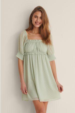NA-KD Dame Korte kjoler - Dobby Minikjole