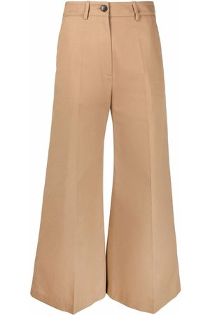 VALENTINO Flared cropped trousers