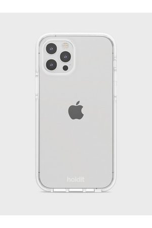 Holdit Dame Mobildeksler - IPhone 12/12Pro Seethru Case White