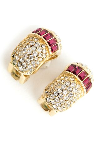 Dior Pre-owned Chrystal Round earrings