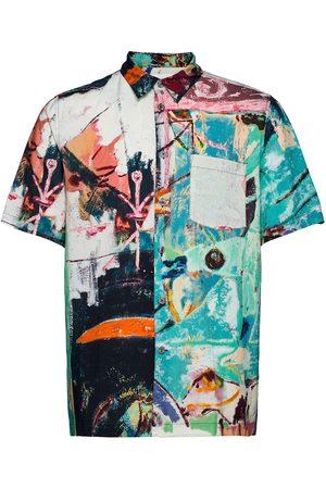 WoodWood Thor Jon Pilkington Shirt Kortermet Skjorte Multi/mønstret
