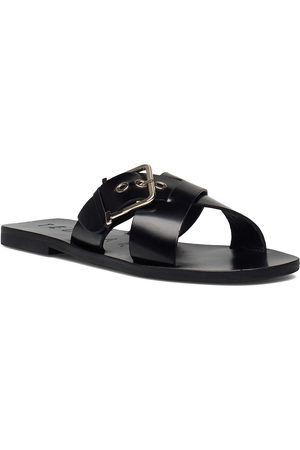 Ted Baker Joseei-Buckle Detail Shoes Summer Shoes Flat Sandals