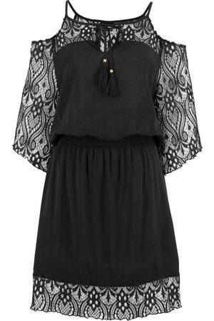 bonprix Dame Strandkjoler - Cold-shoulder-kjole