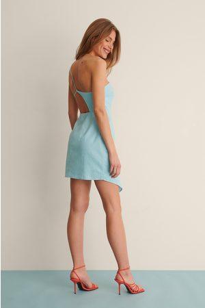Curated Styles Dame Korte kjoler - Minikjole I Linblanding