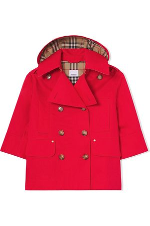 Burberry Jente Trenchcoats - Detachable-hood trench coat